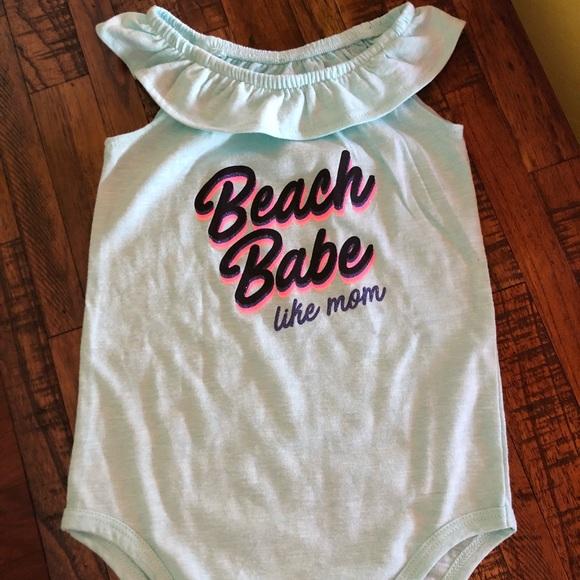 923b2064b okie dokie One Pieces   Ruffle Baby Girl Bodysuit   Poshmark